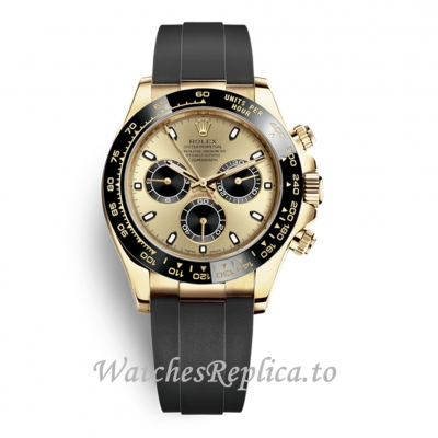 Rolex Daytona Yellow Gold Dial 116518LN 40MM