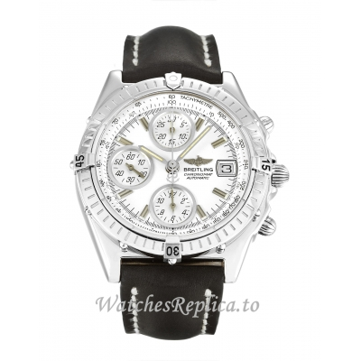Breitling Chronomat Silver Dial A13350 38MM