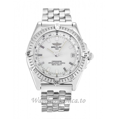 Breitling Wings Automatic White Dial A10350 38MM