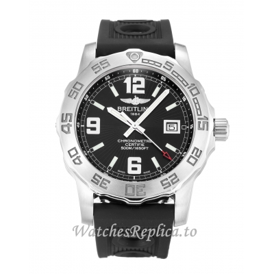 Breitling Colt Quartz Black Dial A74387 44 MM