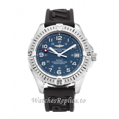 Breitling Colt Quartz Blue Dial A74350 38 MM