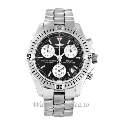 Breitling Colt Quartz Black Dial A73350 38 MM