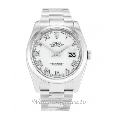 Rolex Datejust White Dial 116200 36MM