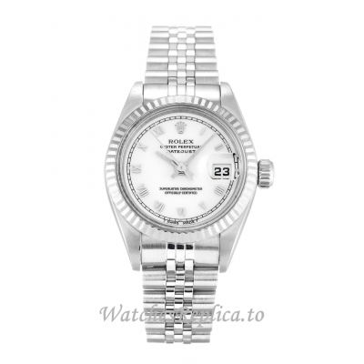 Rolex Datejust Lady White Dial 69174 26MM
