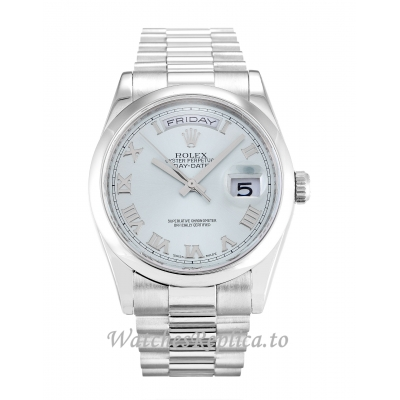 Rolex Day-Date Blue Dial 118206-36 MM
