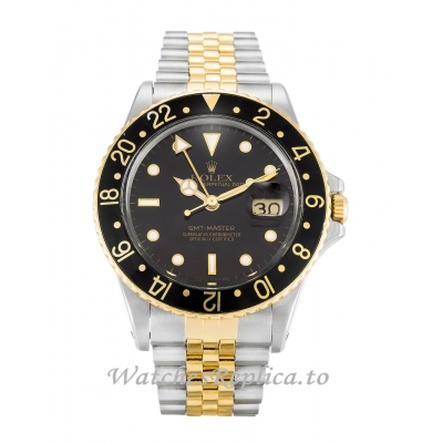Rolex GMT Master Black Dial 16753-38 MM