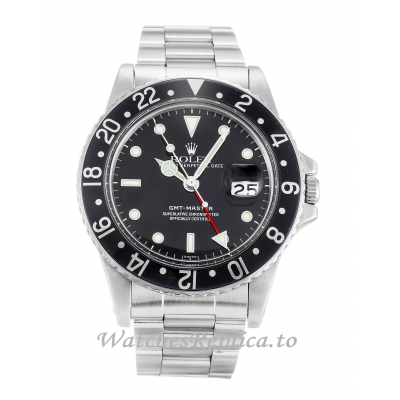 Rolex GMT Master Black Dial 16750-40 MM
