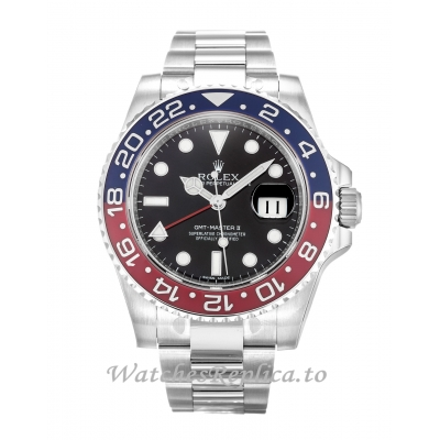 Rolex GMT Master II Black Dial 116719 BLRO-41 MM