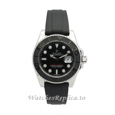 Rolex Yacht Master Black Dial 35MM