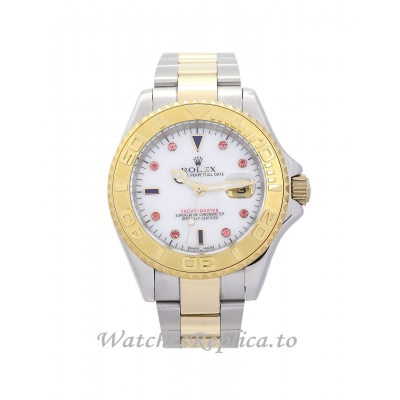 Rolex Yacht Master Red Diamond and White Dial 16623 40MM