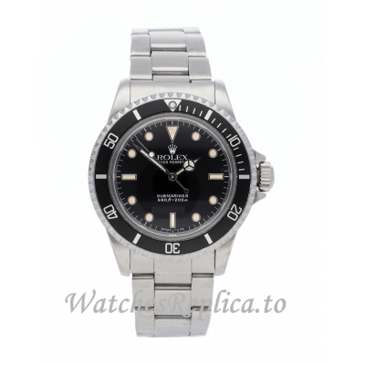 Rolex Vintage Submariner Replica Stainless steel strap 40mm