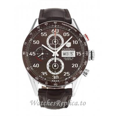 Tag Heuer Carrera Brown Dial CV2A12.FC6236 43 MM