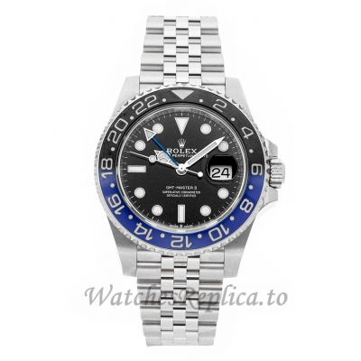 Rolex Replica GMT-Master II Batman 40mm 126710BLNR