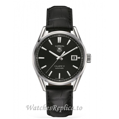 TAG Heuer Replica Carrera Calibre 5 39mm Mens Watch WAR211A.FC6180