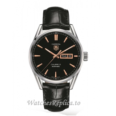 TAG Heuer Replica Carrera Calibre 5 41mm Mens Watch WAR201C.FC6266