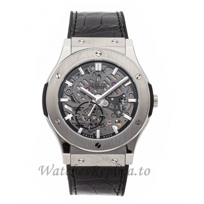 Hublot Replica Classic Fusion Ultra Thin Skeleton 45mm 515.NX.0170.LR