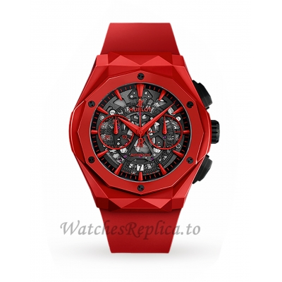 Hublot Replica Classic Fusion Aerofusion Red Ceramic Automatic 45mm