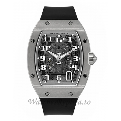 Richard Mille Replica RM67-01 White Gold Extra Flat Automatic 47MM Watch RM67-01 47897